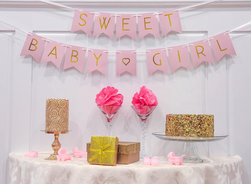 Medium Size of Baby Shower:89+ Indulging Baby Shower Banner Picture Inspirations Baby Shower Banner Amazoncom Baby Shower Decorations For Pastel Pink Sweet Amazoncom Baby Shower Decorations For Pastel Pink Sweet Baby Banner Gender Reveal Baby Announcement Toys Games