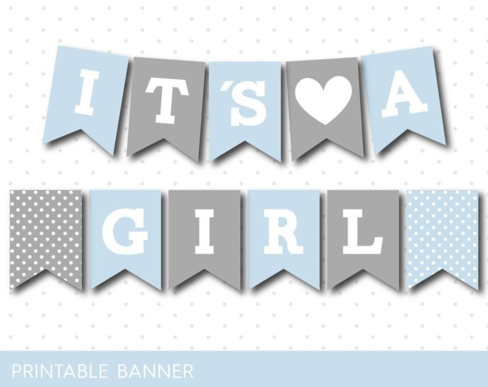 Large Size of Baby Shower:89+ Indulging Baby Shower Banner Picture Inspirations Baby Shower Banner Baby Blue And Grey Baby Shower Banner Pb 491 Ndash Js Digital Paper