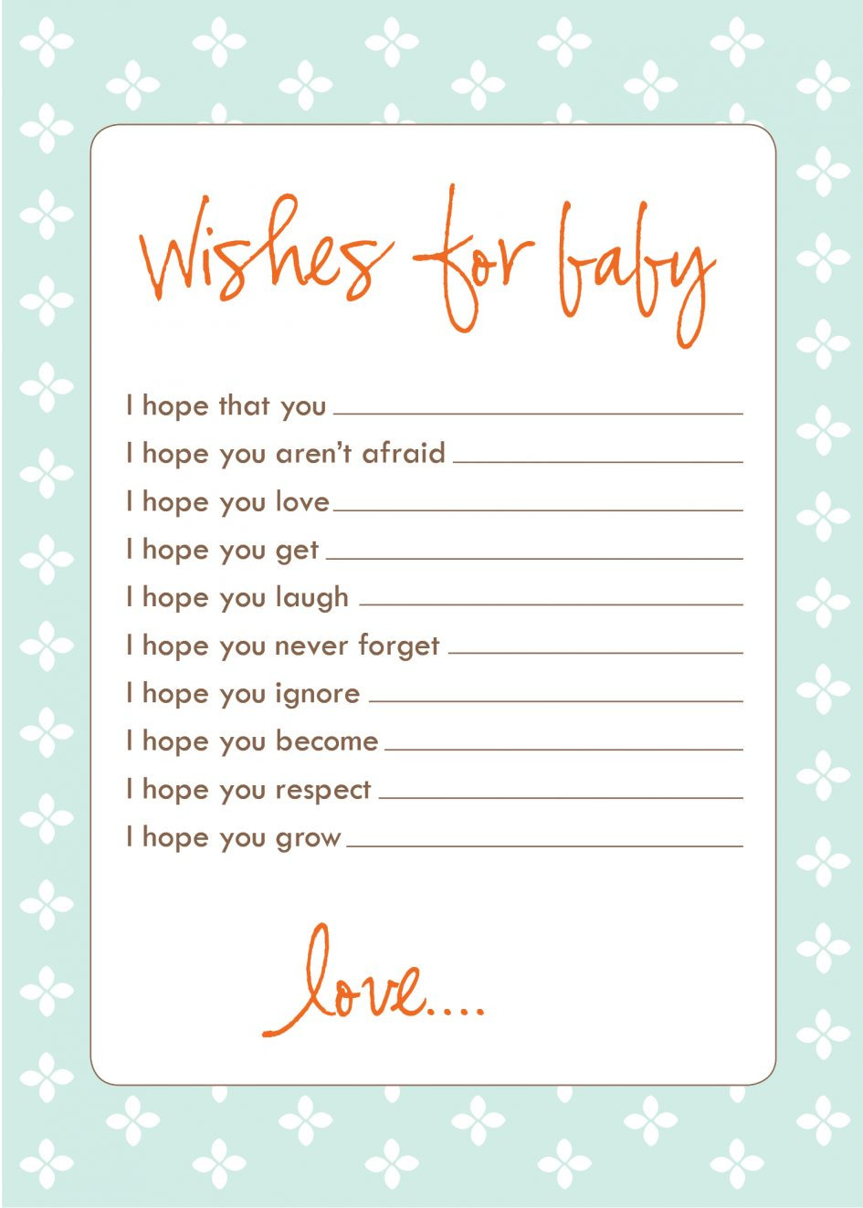 Baby Shower Card Message Best Ideas For Baby Shower Cards Place Card