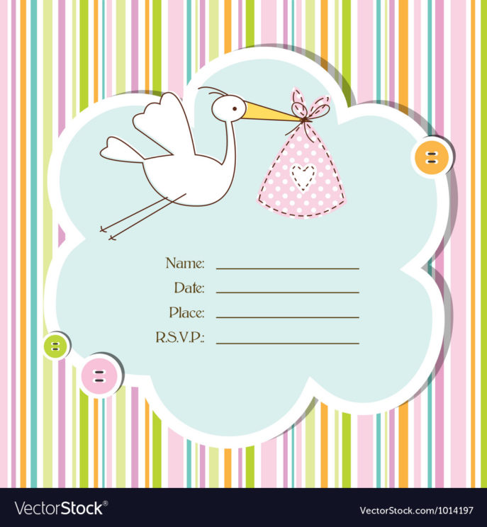 Large Size of Baby Shower:graceful Baby Shower Cards Image Designs Baby Shower Cards Baby Shower Card Royalty Free Vector Image Vectorstock Baby Shower Card Vector Image
