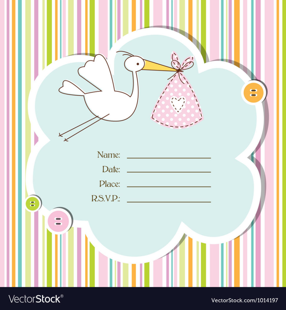 Medium Size of Baby Shower:graceful Baby Shower Cards Image Designs Baby Shower Cards Baby Shower Card Royalty Free Vector Image Vectorstock Baby Shower Card Vector Image