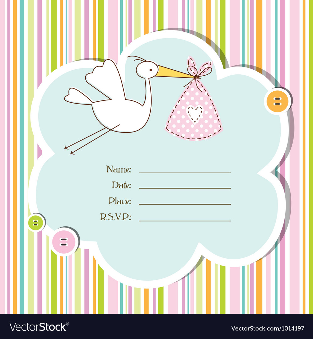 Full Size of Baby Shower:graceful Baby Shower Cards Image Designs Baby Shower Cards Baby Shower Card Royalty Free Vector Image Vectorstock Baby Shower Card Vector Image