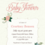 Graceful Baby Shower Cards Image Designs