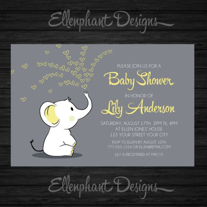 Large Size of Baby Shower:inspirational Elephant Baby Shower Invitations Photo Concepts Baby Shower Corsage With Baby Shower Stores Plus Baby Shower For Men Together With Baby Shower Templates As Well As Regalos Para Baby Shower