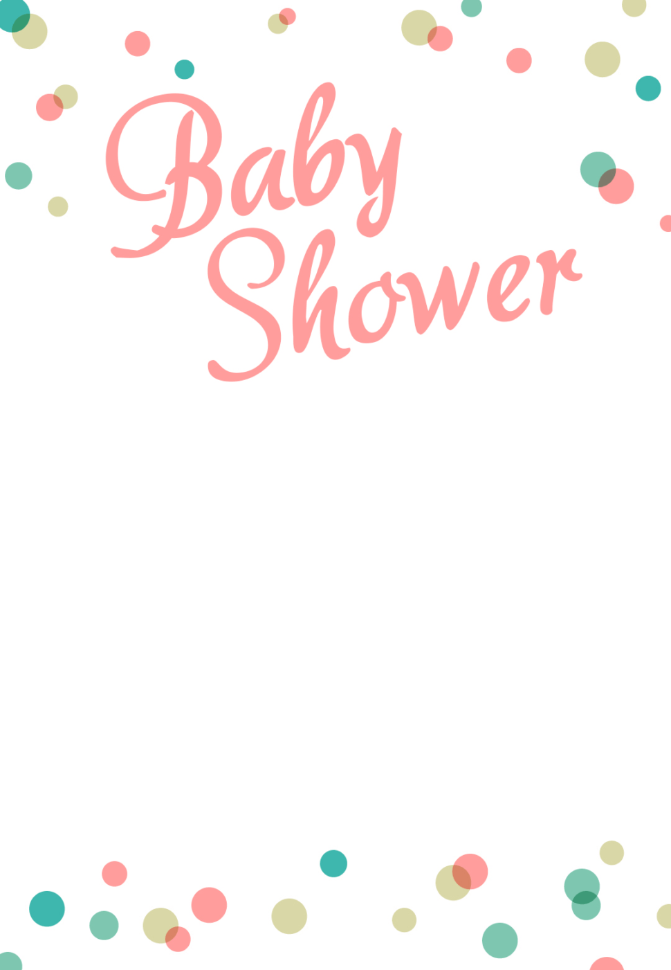 Medium Size of Baby Shower:sturdy Baby Shower Invitation Template Image Concepts Baby Shower Invitation Template Baby Shower Bingo Baby Shower Accessories Arreglos Para Baby Shower Baby Shower Clip Art Dancing Dots Borders Free Printable Baby Shower Invitation