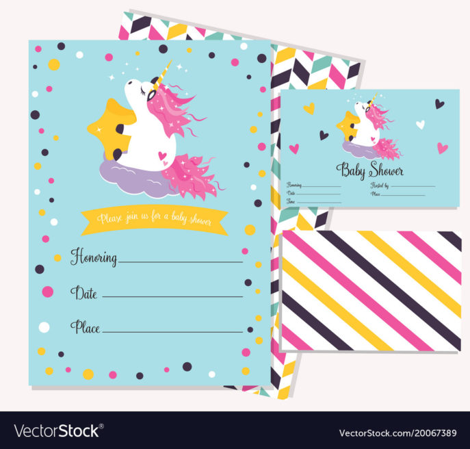 Large Size of Baby Shower:sturdy Baby Shower Invitation Template Image Concepts Baby Shower Invitation Template With Cute Unicorn Vector Image