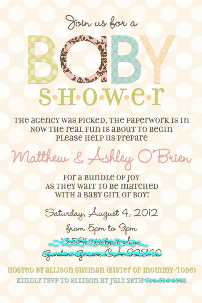 Large Size of Baby Shower:delightful Baby Shower Invitation Wording Picture Designs Baby Shower Invitation Wording Adoption Shower Invitation Templates