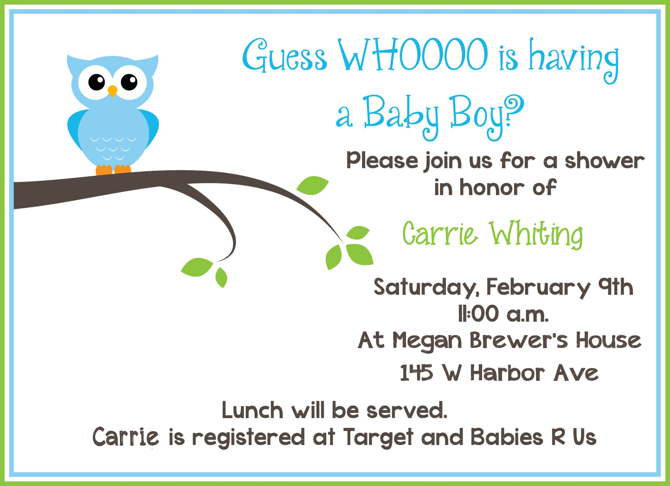 Full Size of Baby Shower:baby Shower Halls With Baby Shower At The Park Plus Recuerdos De Baby Shower Together With Fun Baby Shower Games As Well As Baby Shower Hostess Gifts And Baby Shower Verses Baby Shower Invitation Wording Free Printable Owl Baby Shower Invitations Other Printables Free Printable Owl Baby Shower Invitations Sample