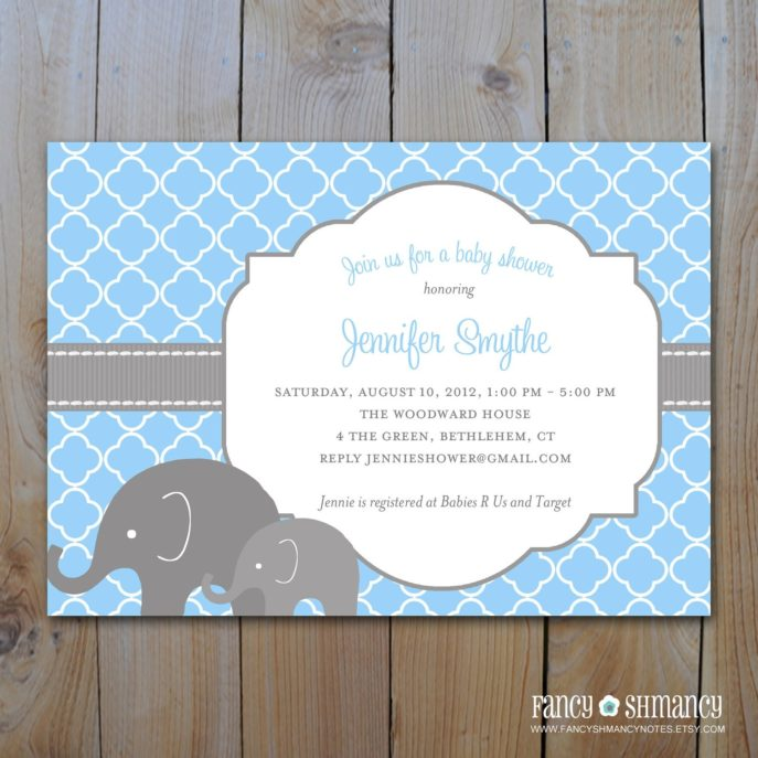 Large Size of Baby Shower:inspirational Elephant Baby Shower Invitations Photo Concepts Baby Shower Registry List With Baby Shower Crafts Plus Baby Shower Cards For Boy Together With Creative Baby Shower Gifts As Well As Baby Shower Items And Baby Shower Stores