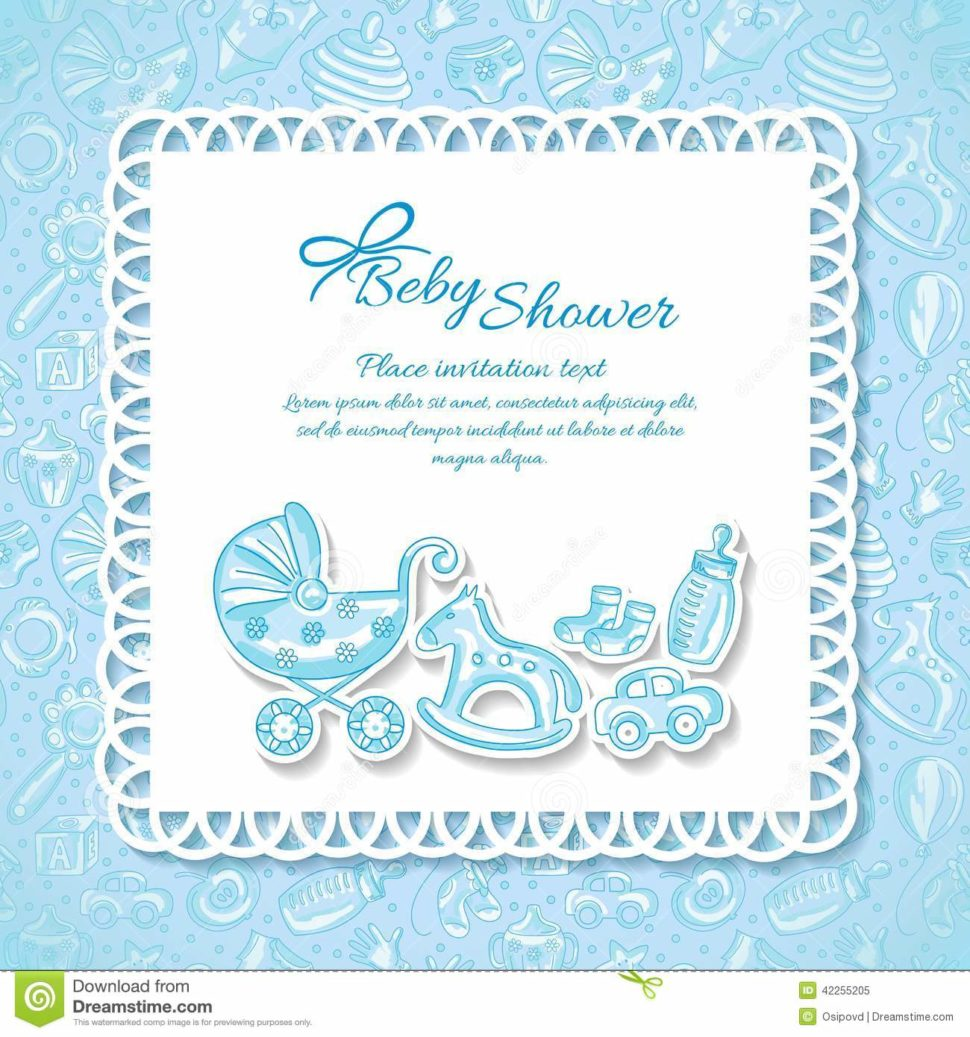 Medium Size of Baby Shower:stylish Baby Shower Wishes Picture Inspirations Baby Shower Wishes Baby Shower Greeting Card For Baby Boy Stock Vector Illustration Download Comp