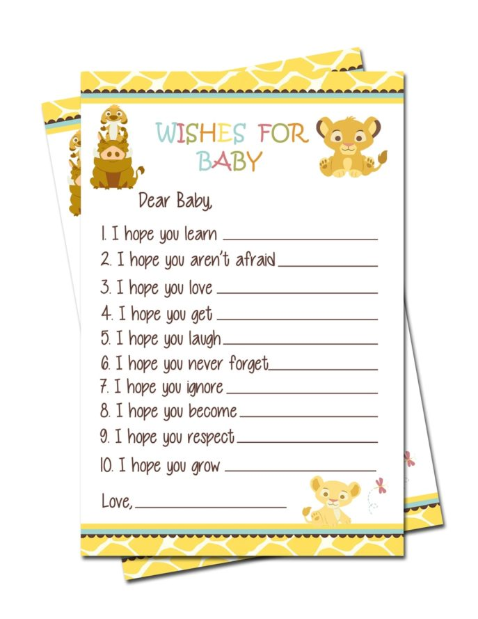 Large Size of Baby Shower:stylish Baby Shower Wishes Picture Inspirations Baby Shower Wishes Simba Lion King Baby Shower Wishes For Baby Games
