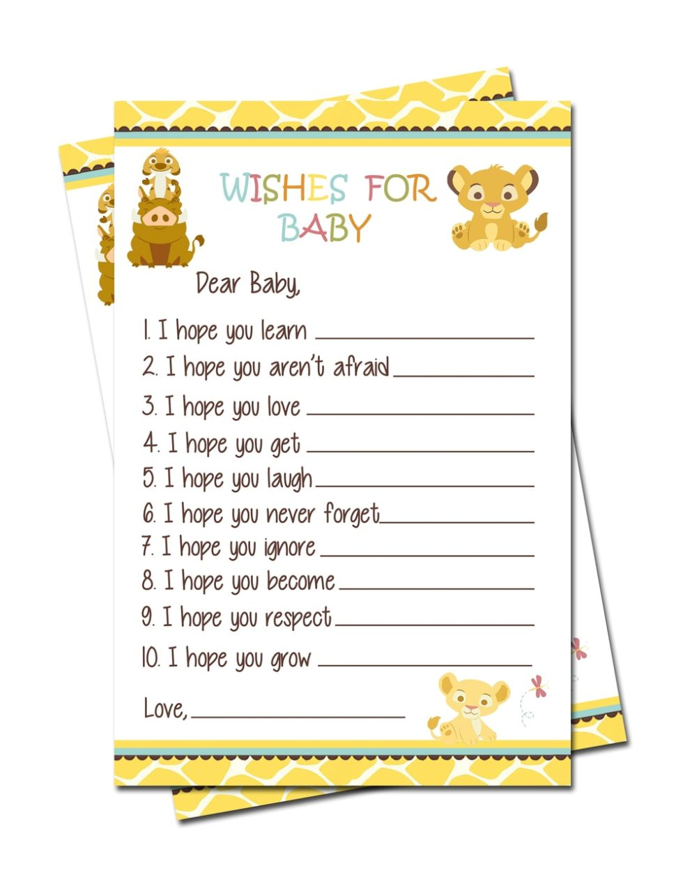Medium Size of Baby Shower:stylish Baby Shower Wishes Picture Inspirations Baby Shower Wishes Simba Lion King Baby Shower Wishes For Baby Games