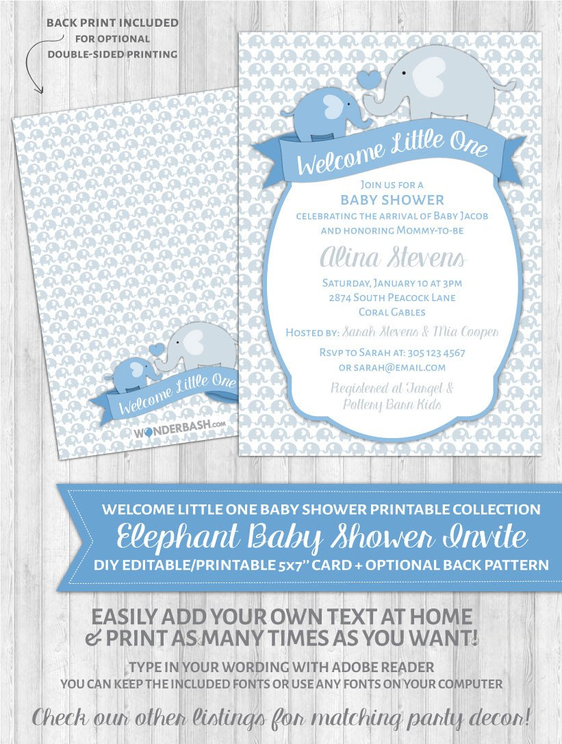 Medium Size of Baby Shower:inspirational Elephant Baby Shower Invitations Photo Concepts Baby Shower With Unique Baby Shower Ideas Plus Baby Shower Party Favors Together With Baby Shower Flyer As Well As Homemade Baby Shower Gifts