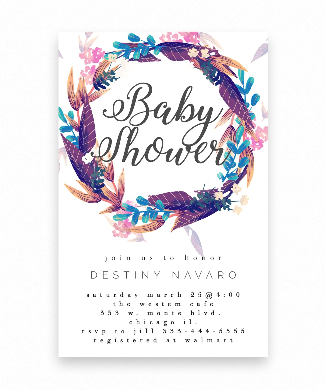 Full Size of Baby Shower:63+ Delightful Cheap Baby Shower Invitations Image Inspirations Cheap Baby Shower Invitations Baby Shower Party Themes Baby Shower Props Baby Shower Stuff Baby Shower Restaurants Baby Shower Favors To Make Boho Floral Wreath Baby Shower Invitation