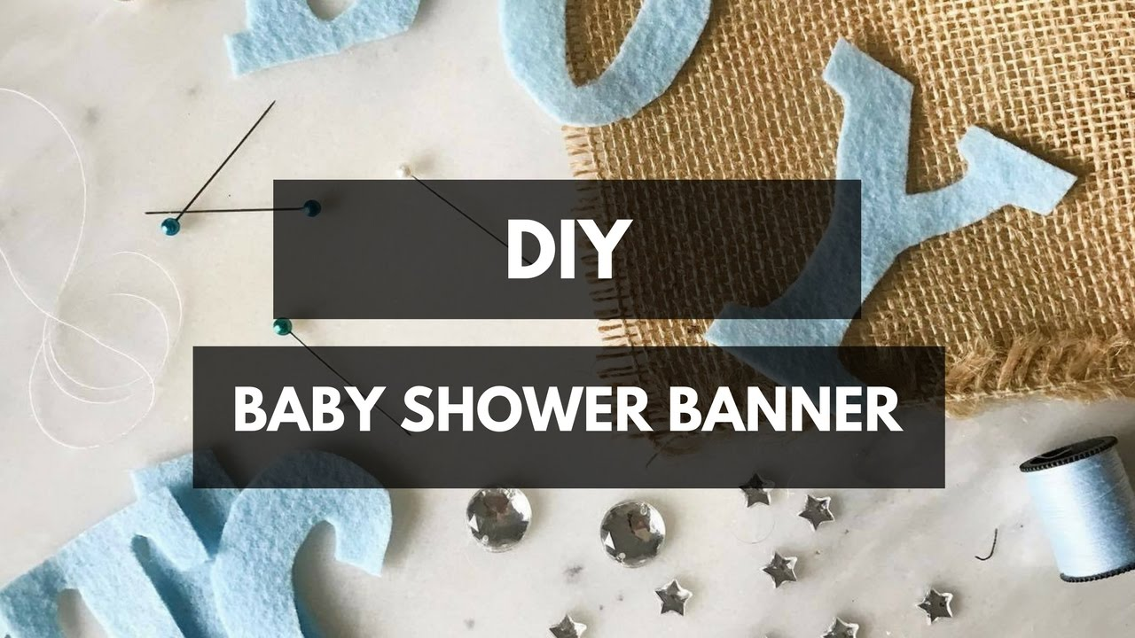 Full Size of Baby Shower:89+ Indulging Baby Shower Banner Picture Inspirations Diy Baby Shower Banner Youtube Diy Baby Shower Banner
