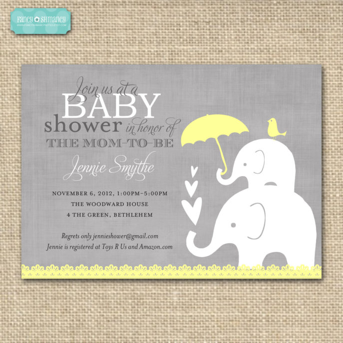Large Size of Baby Shower:inspirational Elephant Baby Shower Invitations Photo Concepts Elephant Baby Shower Invitations And Homemade Baby Shower Gifts With Baby Shower Labels Plus Baby Shower Door Prizes Together With Baby Shower Tea As Well As Baby Shower Templates