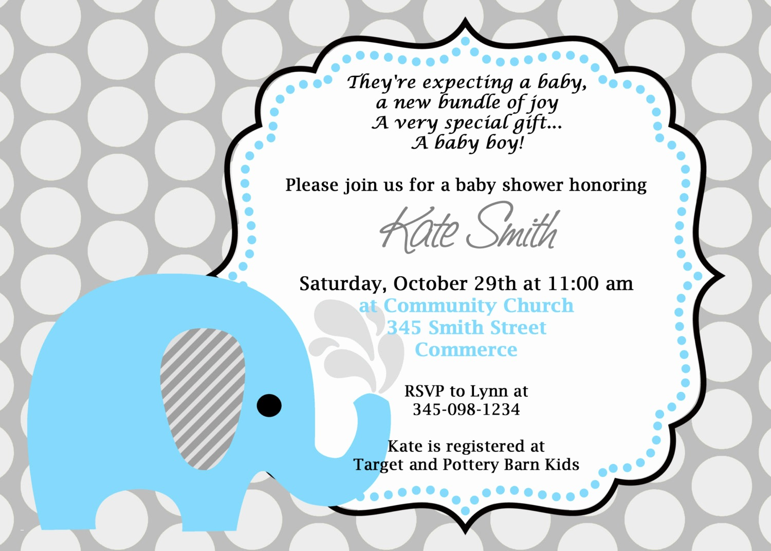 Full Size of Baby Shower:inspirational Elephant Baby Shower Invitations Photo Concepts Elephant Baby Shower Invitations As Well As Baby Shower Wishes With Baby Shower Cards For Boy Plus Baby Shower Game Ideas Together With Baby Shower Lunch Menu