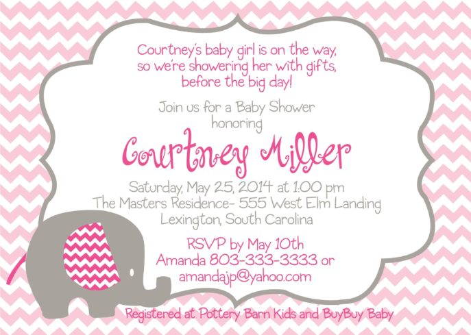 Large Size of Baby Shower:inspirational Elephant Baby Shower Invitations Photo Concepts Elephant Baby Shower Invitations As Well As Creative Baby Shower Gifts With Baby Shower Flower Wall Plus Baby Shower Gift Bags Together With Baby Shower Messages