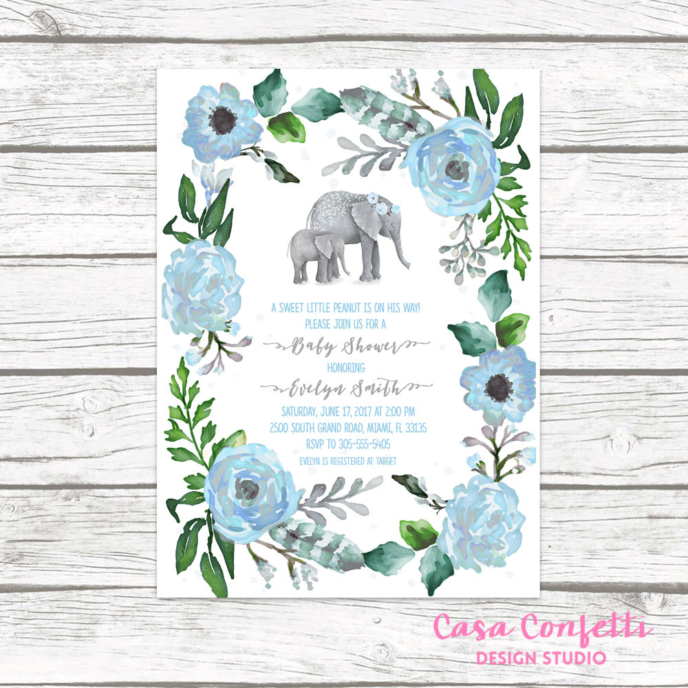 Full Size of Baby Shower:inspirational Elephant Baby Shower Invitations Photo Concepts Elephant Baby Shower Invitations Baby Shower Flyer Baby Shower Gift Message Baby Shower Favor Ideas Baby Shower Stores Baby Shower Flower Wall Baby Shower Theme Ideas Elephant Baby Shower Invitation Boy Elephant Invitation Boho Baby Shower Boy Baby Shower Invite Little Peanut Printable Invitation
