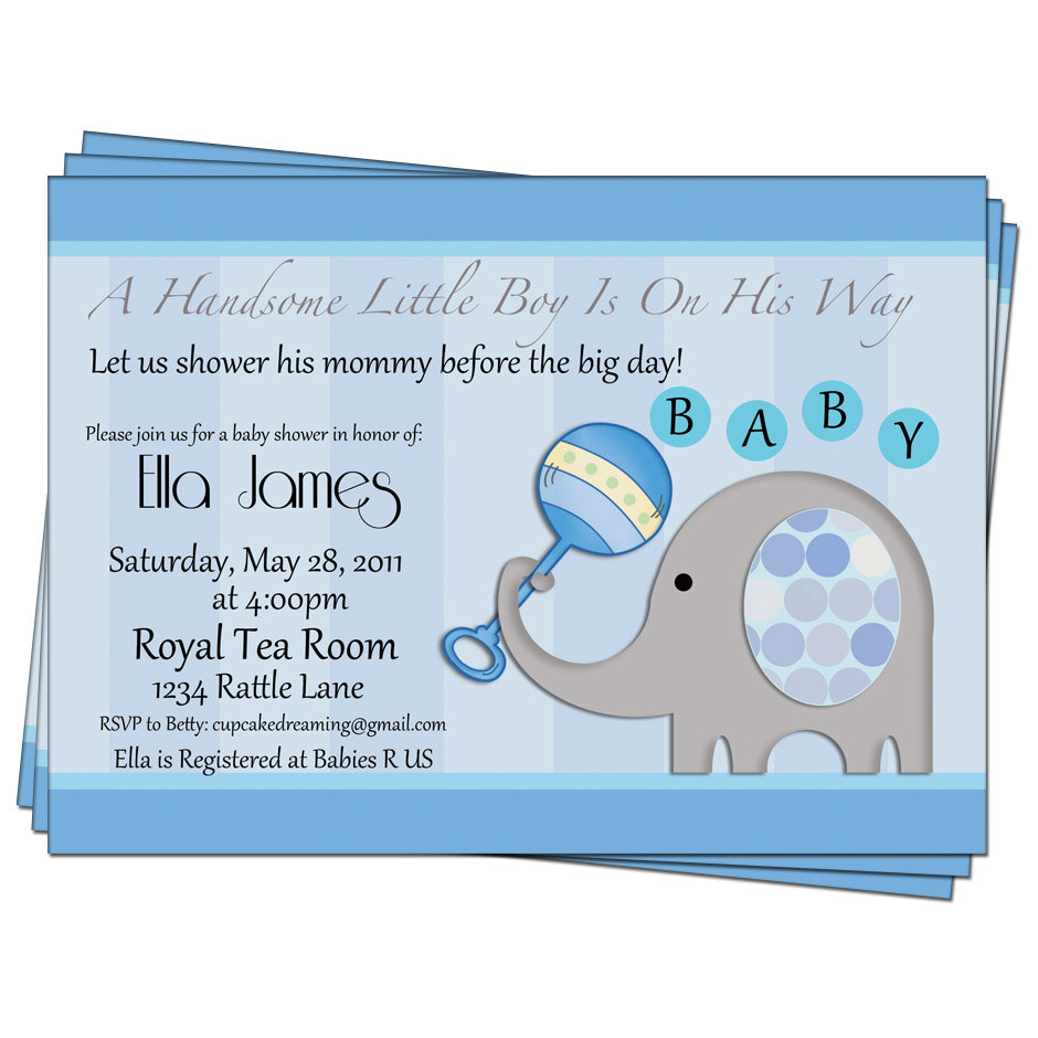Full Size of Baby Shower:inspirational Elephant Baby Shower Invitations Photo Concepts Elephant Baby Shower Invitations Blue Elephant Baby Shower Invitations Ndash Gangcraftnet Elephant Baby Boy Shower Invitations Eysachsephoto Baby Shower Invitations