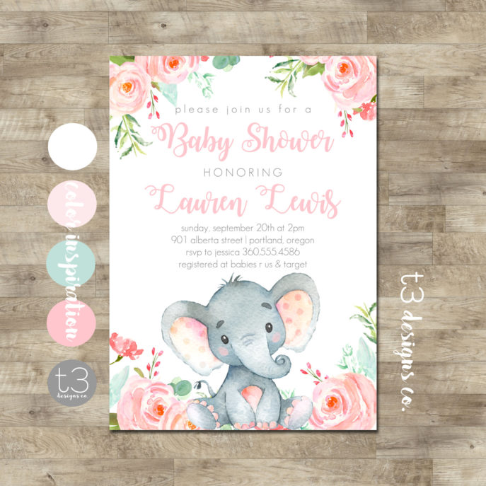 Large Size of Baby Shower:inspirational Elephant Baby Shower Invitations Photo Concepts Elephant Baby Shower Invitations Elephant Baby Shower Invitation Safari Baby Shower 128270zoom