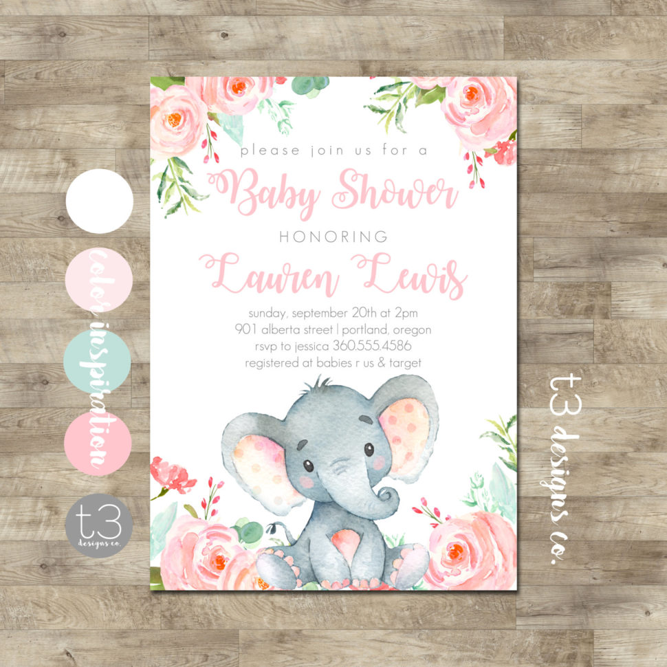 Medium Size of Baby Shower:inspirational Elephant Baby Shower Invitations Photo Concepts Elephant Baby Shower Invitations Elephant Baby Shower Invitation Safari Baby Shower 128270zoom