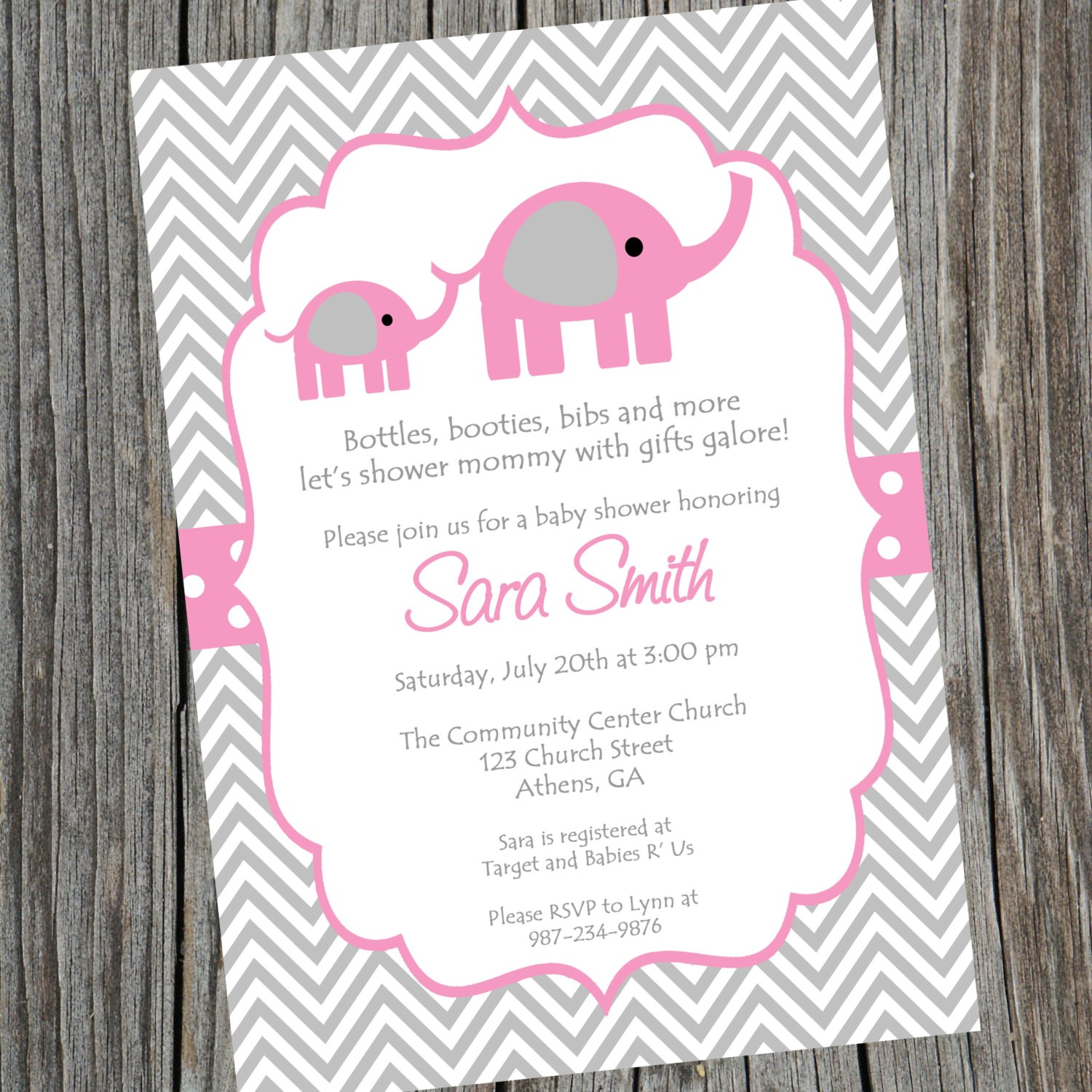 Full Size of Baby Shower:inspirational Elephant Baby Shower Invitations Photo Concepts Elephant Baby Shower Invitations Invitation For Baby Shower Fascinating Pink And Grey Elephant Baby