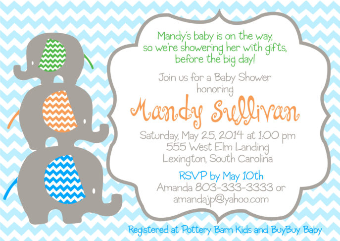 Large Size of Baby Shower:inspirational Elephant Baby Shower Invitations Photo Concepts Elephant Baby Shower Invitations Noah's Ark Baby Shower Baby Shower Party Favors Unique Baby Shower Gifts Baby Shower Flyer