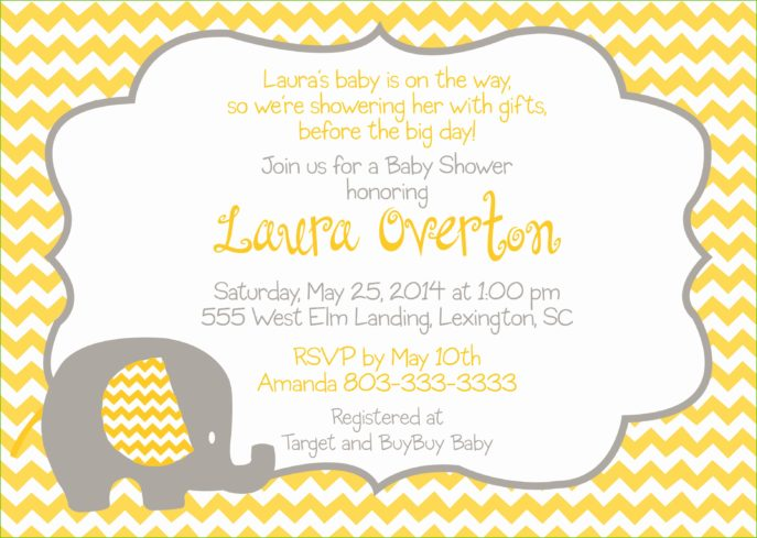 Large Size of Baby Shower:inspirational Elephant Baby Shower Invitations Photo Concepts Elephant Baby Shower Invitations Or Unique Baby Shower Gifts With Baby Shower Door Prizes Plus Baby Shower Messages Together With Creative Baby Shower Gifts As Well As Baby Shower Nail Designs And Baby Shower Corsage