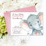 Baby Shower:Inspirational Elephant Baby Shower Invitations Photo Concepts Elephant Baby Shower Invitations Pink Elephant Baby Shower Invitation Its A Watercolor Gallery Photo Gallery Photo Gallery Photo
