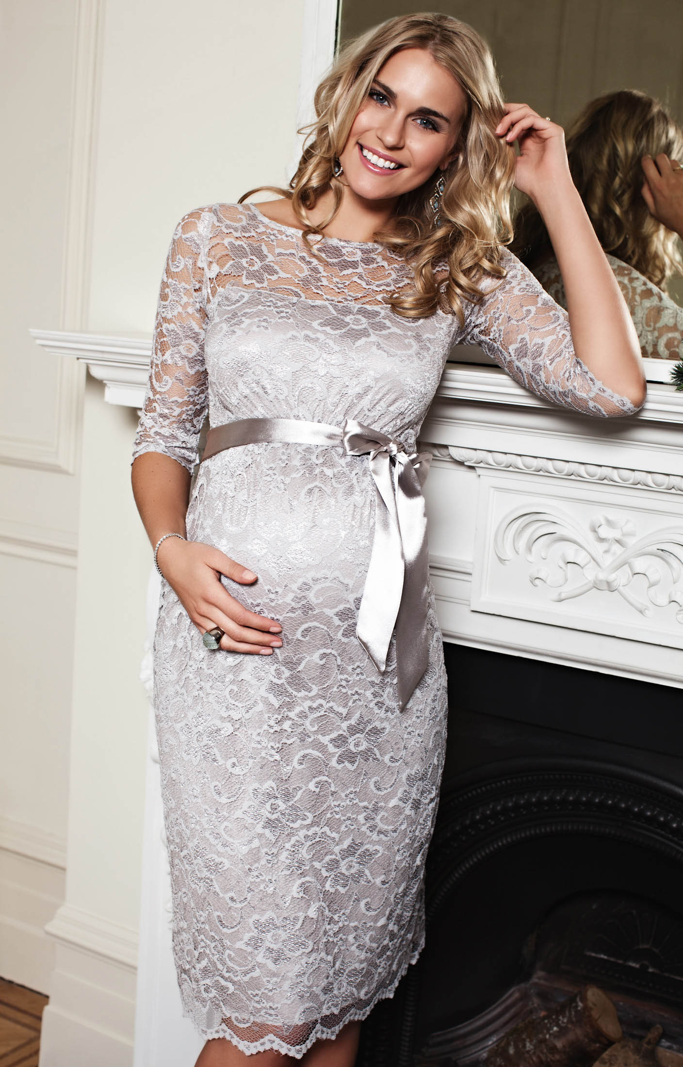 Full Size of Baby Shower:stylish Maternity Dresses For Baby Shower Ba Shower Outfits For Ba Shower Cute Maternity Dress Ba Regarding Stylish Maternity Dresses For Baby Shower Amelia Maternity Dress Short Silver Moonbeam By Tiffany Rose