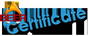 Beer Certificate