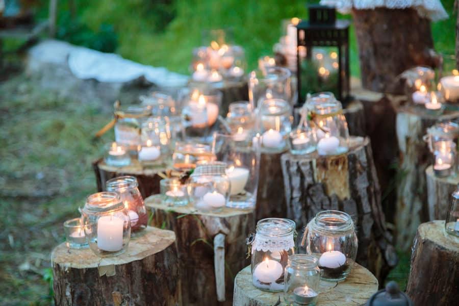 Tree Stump décor