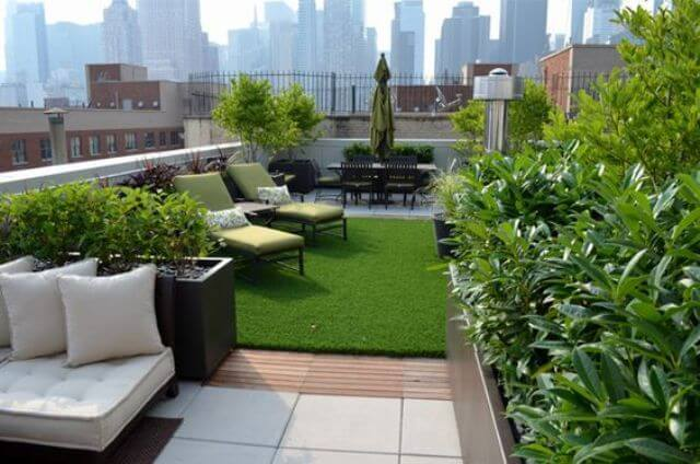Rooftop Lawn