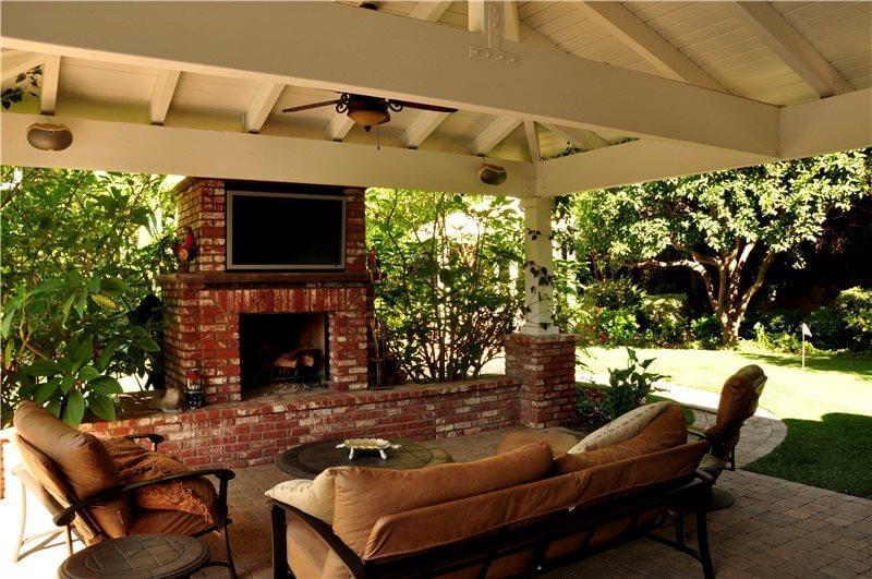 Fireplace Cabana