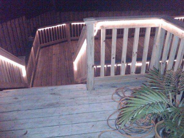 Deck Rope Lights