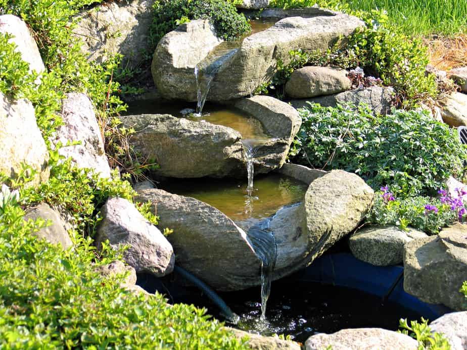 Tiered Granite