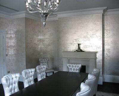 Use Metallic wallpapers