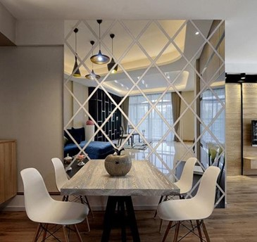 Use Mirrors for Decorations